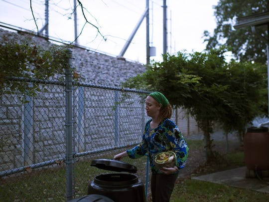 Christina McLean grew up with compost in her backyard,