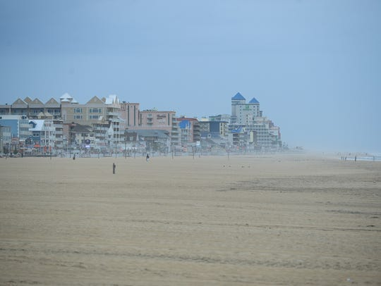Ocean City thus far has missed any effects from Hurricane