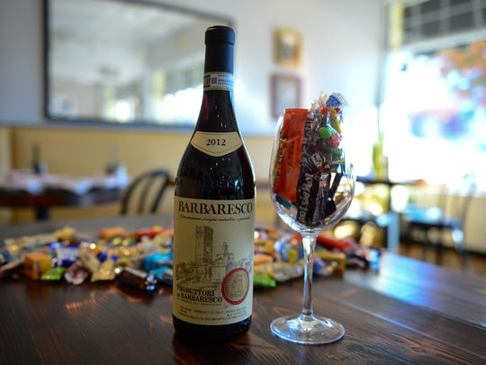 After Halloween candy goes perfect with select wines.