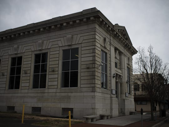 The former National State Bank on Market Street in