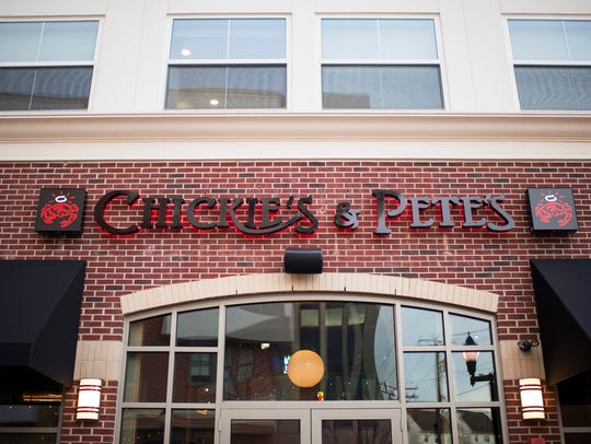 Chickie's & Pete's opened in Glassboro last year.