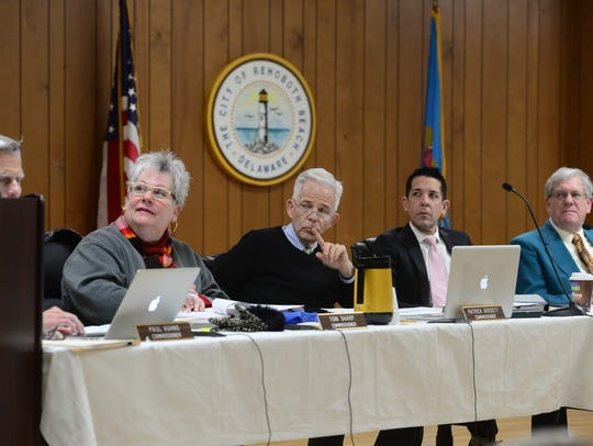 Rehoboth Beach commissioners meet Friday, March 17,
