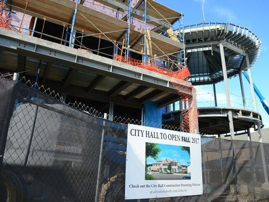 Rehoboth City Hall will total 43,000 square feet. The lower level and the third floor will include some space for growth.