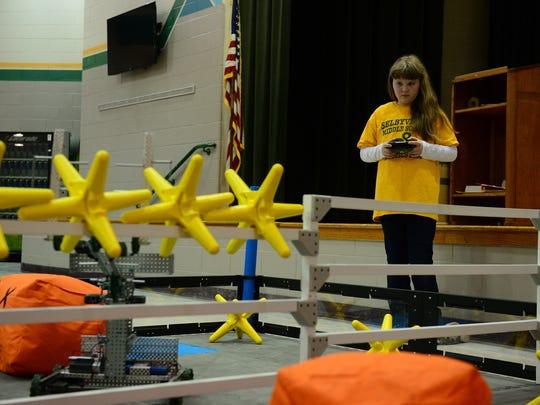 Kaitlyn Johnson, Selbyville Middle school Robotics