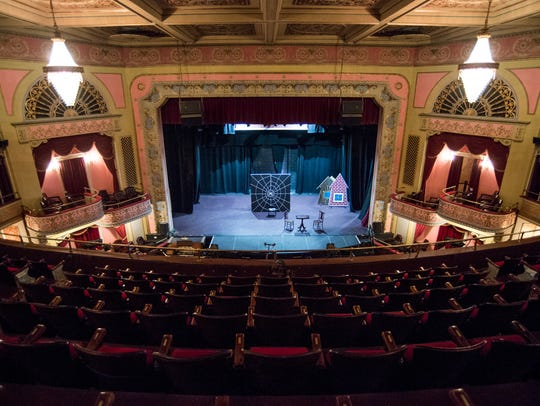 The stage at the Broadway Theatre of Pitman.