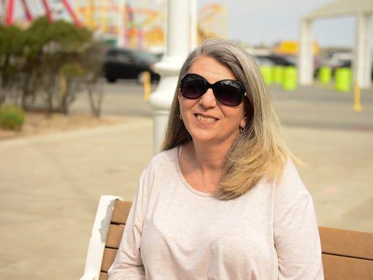 Ann Smith, of Brooklyn, New York on the Ocean City