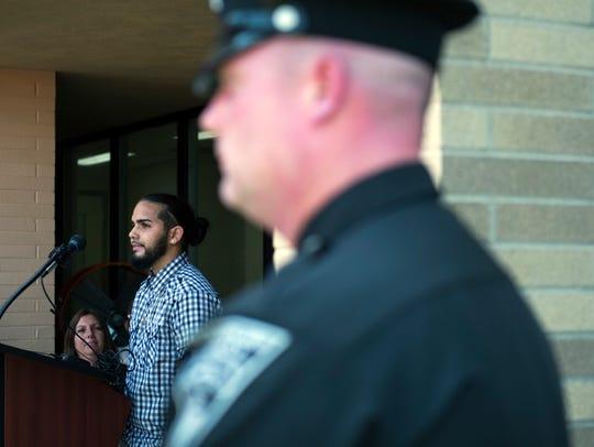 Benny Negron, 29, a former drug dealer, speaks of his