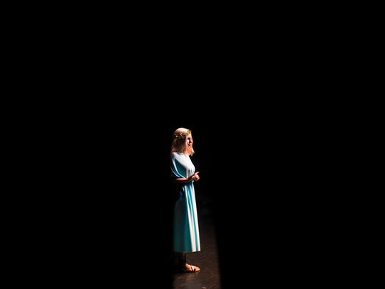 "Stella Brennan-Romano plays Hermia in ""A Midsummer"