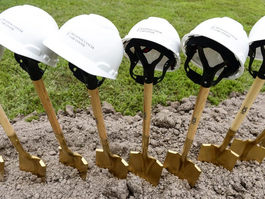 Atlantic General Hospital held the ground breaking