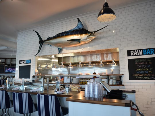 Bluecoast Seafood Grill and Raw Bar in Rehoboth, on