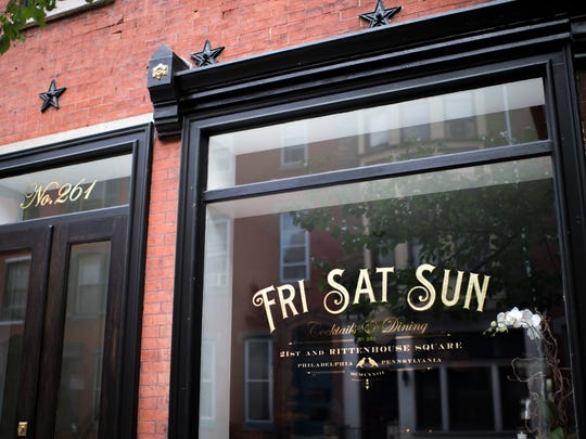 Exterior of Friday Saturday Sunday in Philadelphia.