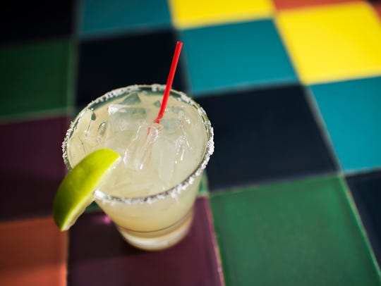 A fresh margarita from La Esperanza in Lindenwold,