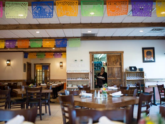 The interior of Cielito Lindo in Medford is warm and welcoming, and seems like it's always been.