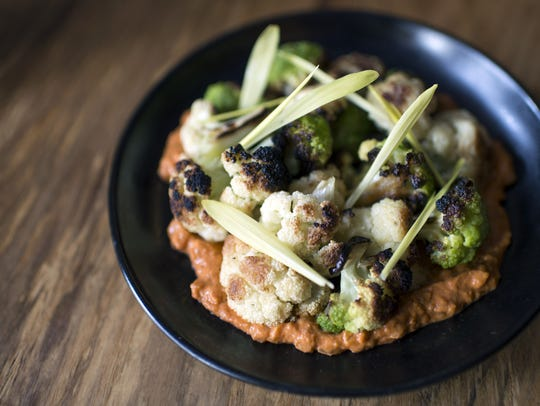 Charred cauliflower from Hearthside in Collingswood.