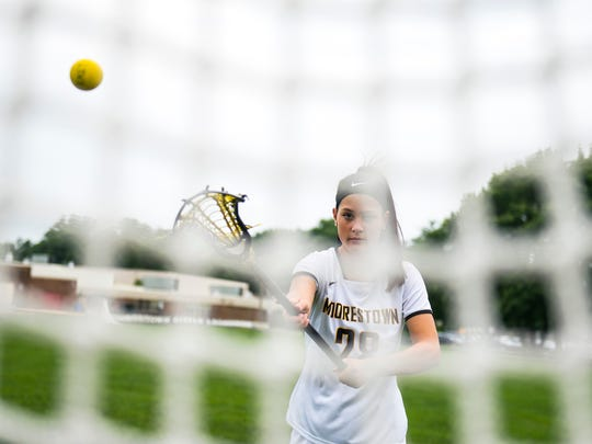 Moorestown's Kacey Knobloch is the Courier Post's 2018 Girls' Lacrosse Player of the Year.