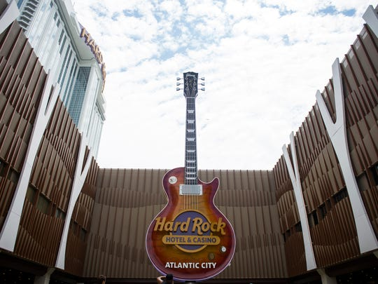 The new Hard Rock Hotel & Casino Thursday, June 28, 2018 in Atlantic City. N.J.
