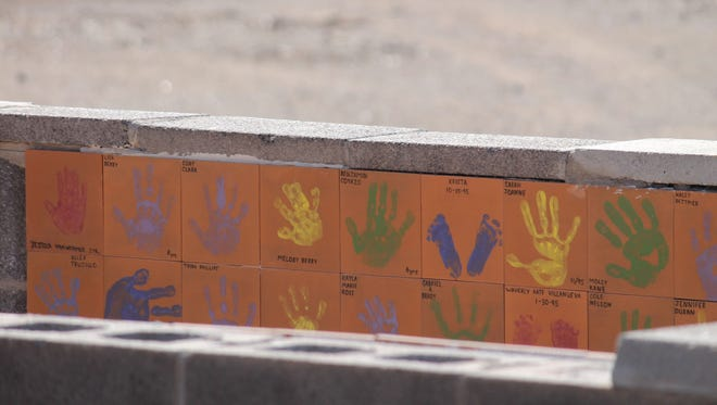 Kids' Kingdom tiles have been deemed unsalvageable by the City of Alamogordo. The tiles were used as a fundraising effort to build the original Kids' Kingdom structure in 1995.