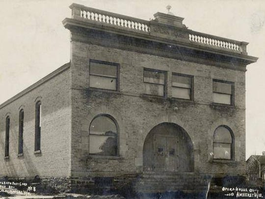 A photo of the Amherst Opera House from 1903, a year after it was built. A new organization, the Amherst Opera House Company Guild, has been formed to purchase the building and re-open it to the public.