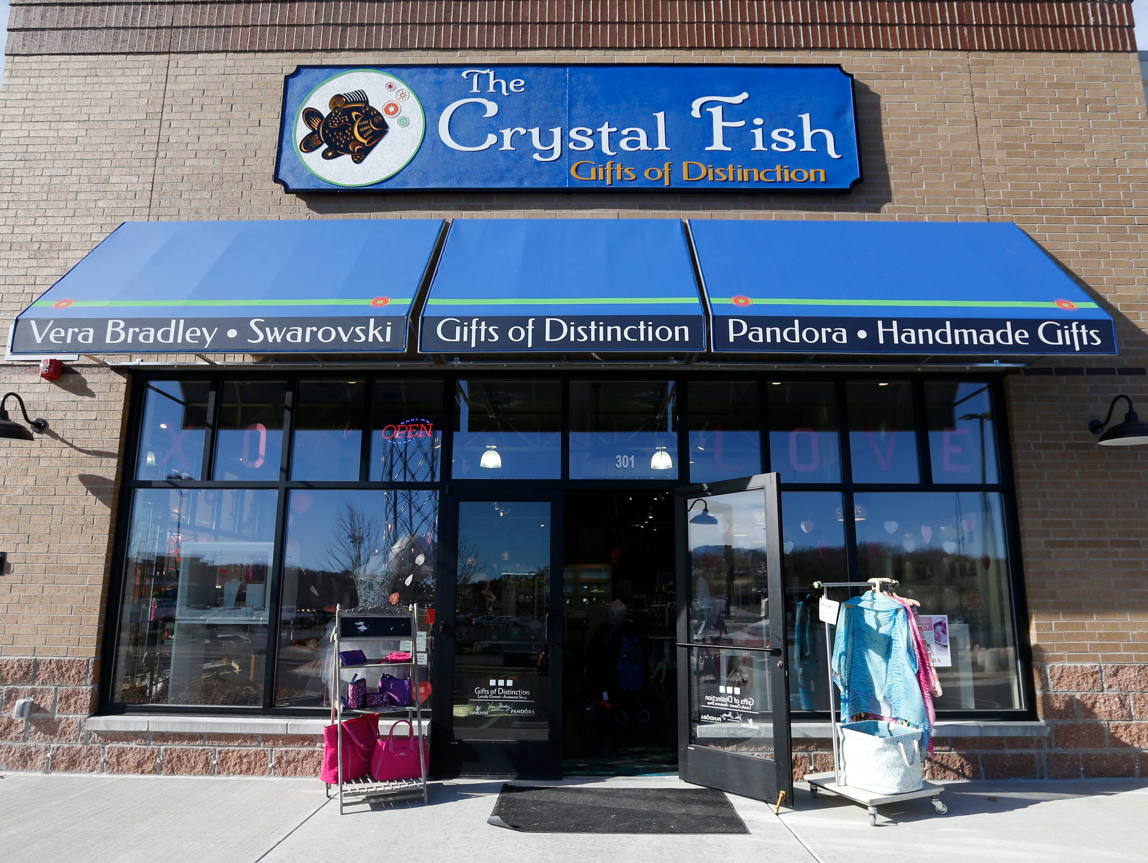 The Crystal Fish is located at 490 Branson Landing