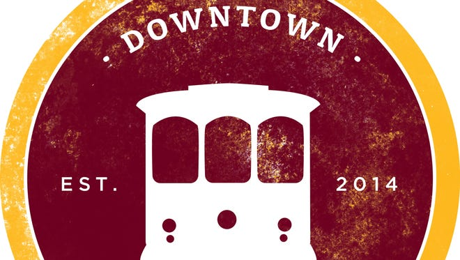 The Downtown Trolley logo is shown.