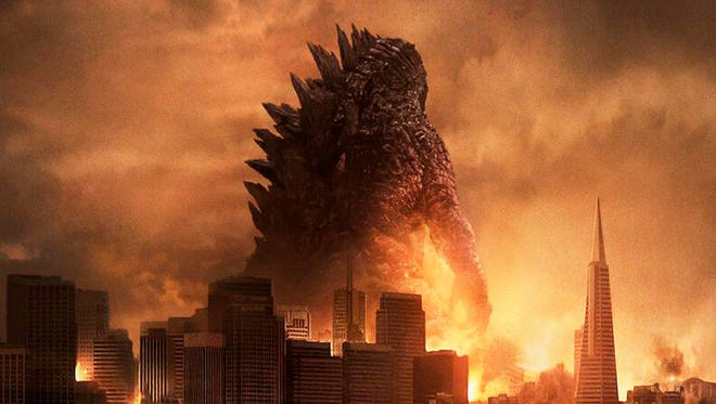 "The classic monster's back and meaner than ever with an updated roar and a nuclear backstory in ""Godzilla."""