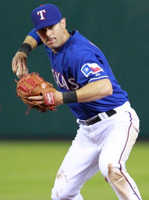 Michael Young debuted with the Rangers in 2000 and amassed 2,230 hits with the club.
