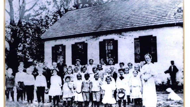 Forwood School in Brandywine Hundred is shown in an undated photo. A developer is proposing to tear down the 1799 building for a mixed-use project.