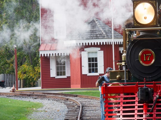Steam Into History will offer a 45-minute train ride, followed by a horse-drawn carriage, to Bricker's Tree Farm for families to cut down their Christmas tree.