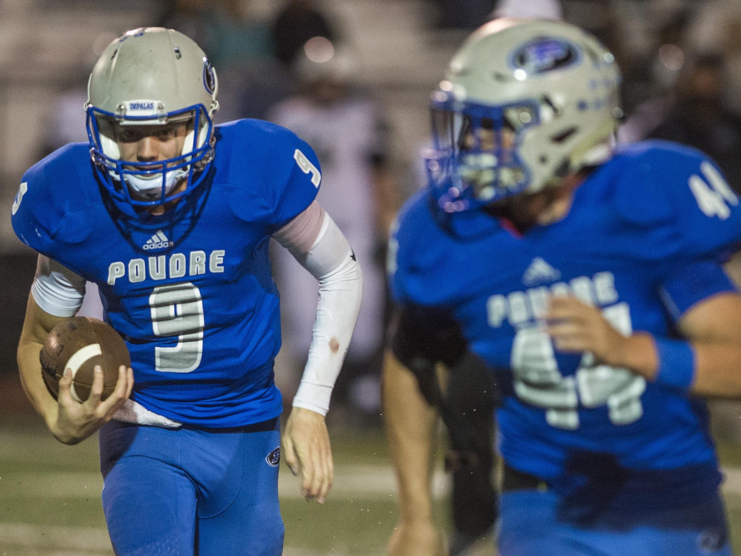 The Poudre High School football team faces Rocky Mountain at 7 p.m. Friday.
