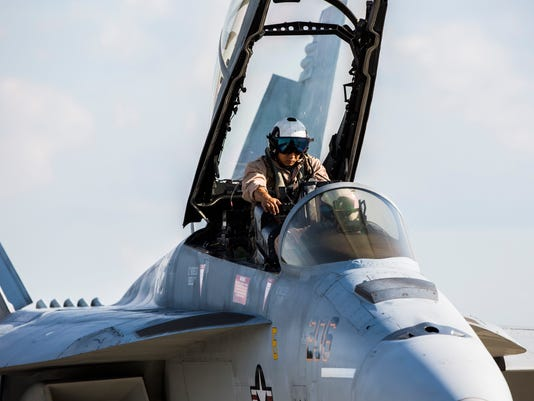 US Navy F-18 Rhino Super Hornet Jets
