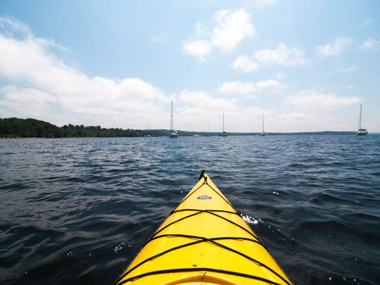 A paddle in Lake Champlain's Shelburne Bay offers great views, interesting geology and lots of birds.