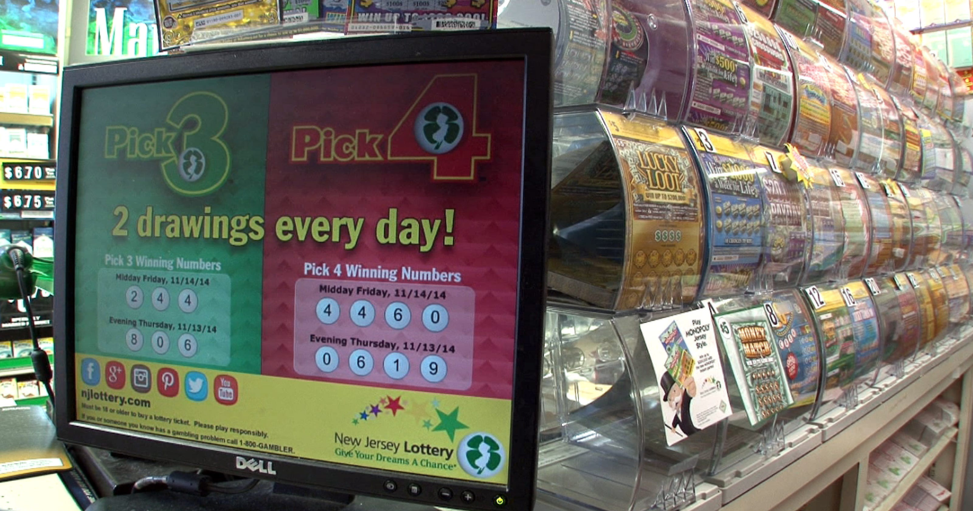 $94 million won in NJ Lotto