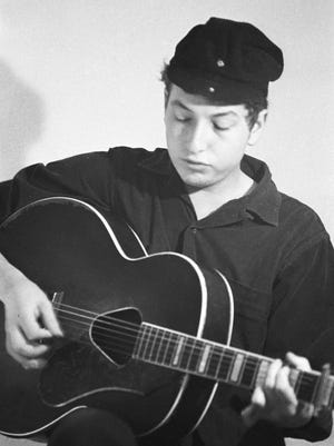 "Bob Dylan in ""Bob Dylan: No Direction Home."""