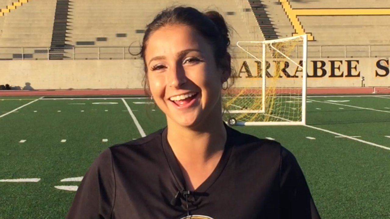 After reaching its first CIF-Southern Section final, the Ventura High girls soccer team is enjoying the spotlight. Video by Joe Curley