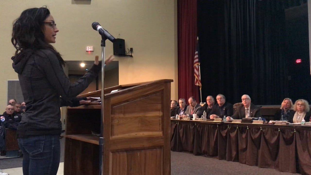 The Roxbury township council and board of education  took the unprecedented step of calling a joint public meeting to address concerns about protecting students. March 5, 2018 William Westhoven/DailyRecord.com