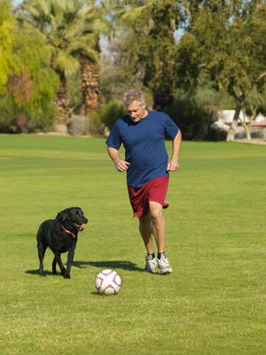 A study found that health benefits of playing soccer are ample for older adults.