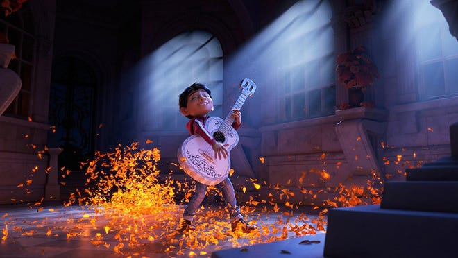 """The voice of Anthony Gonzalez is featured in """"Coco."""""""