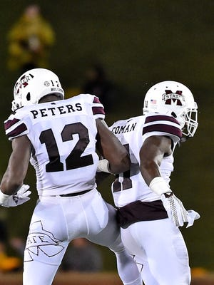 Mississippi State ranked No. 17 in the College Football Playoff rankings.