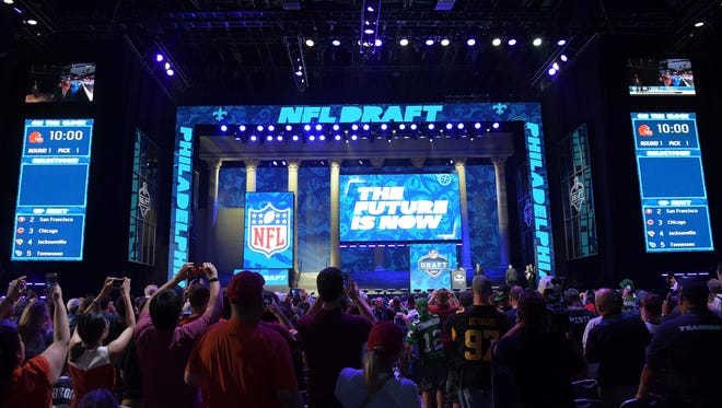 The 2018 NFL draft will be held April 26-28 in Arlington, Texas.