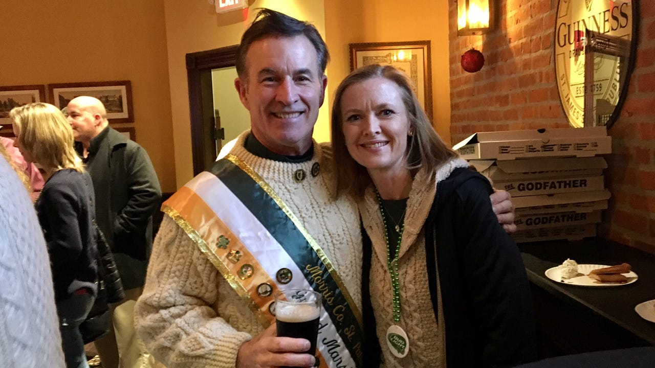 John J. Murphy joins list of grand marshals tapped to lead St. Patrick's Day parade of Morris County.