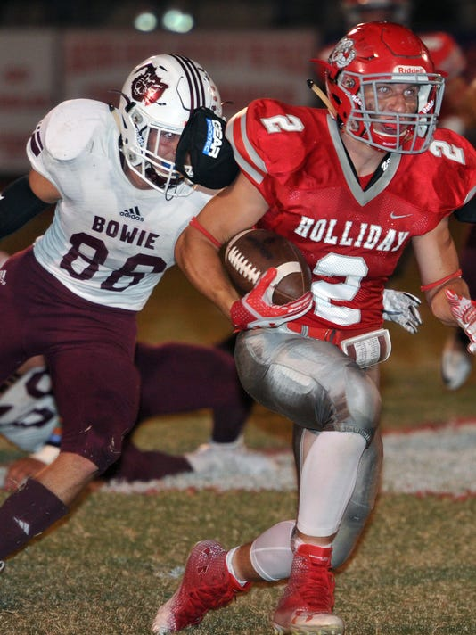 Bowie at Holliday FB 7