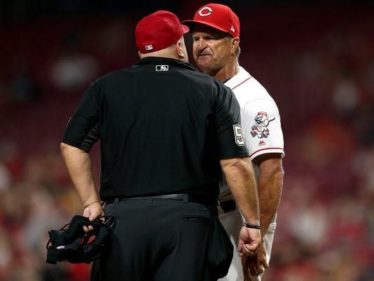 Riggleman ejected after umpire told him to 'do your job'