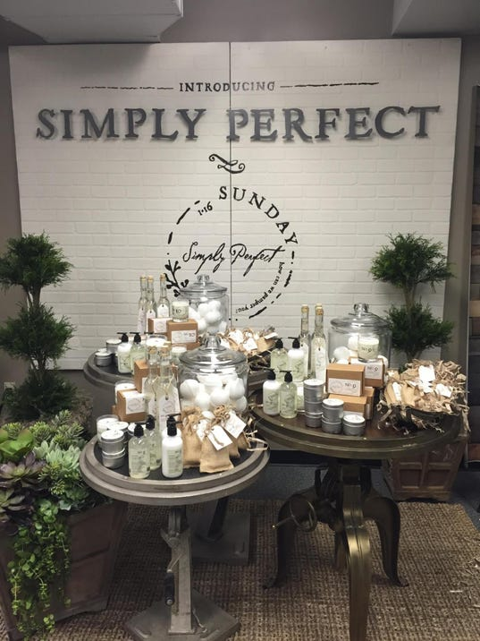 sullivans to carry products from simply perfect