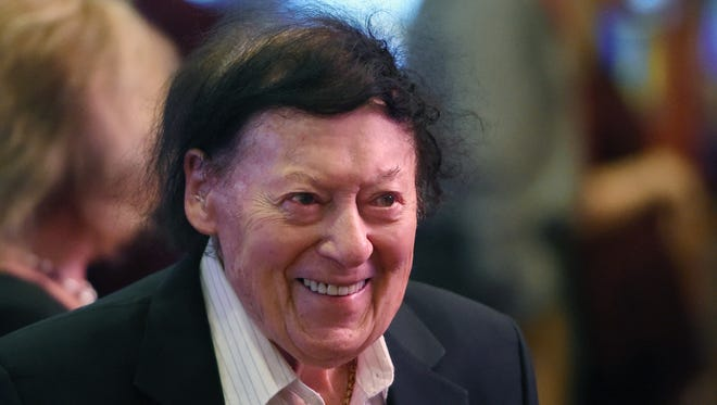 Comedian Marty Allen died at 95 on Feb. 12, 2018 in Las Vegas.