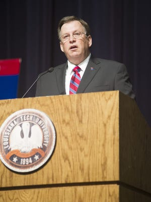 Louisiana Tech University President Les Guice emailed students and faculty about the social media posts