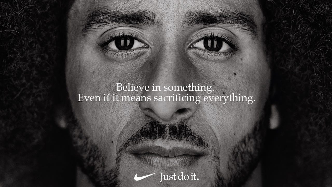 955c3a47 Nike backs Colin Kaepernick with ad set to debut during season kickoff