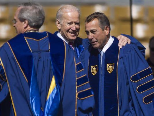 John Boehner, Joe Biden