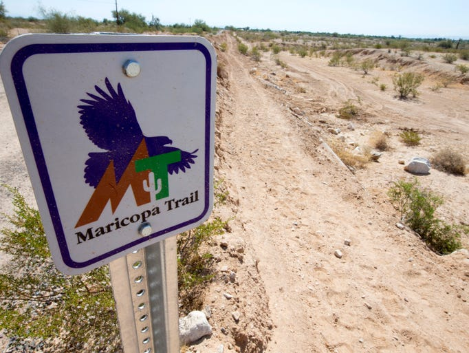 The 240-mile Maricopa Trail eventually will loop around the Valley and connect the county's 10 regional parks.