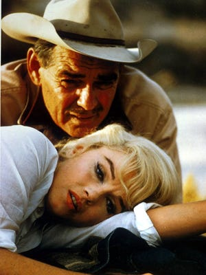 """The 1961 film """"The Misfits"""" was both Marilyn Monroe and Clark Gable's final credit."""