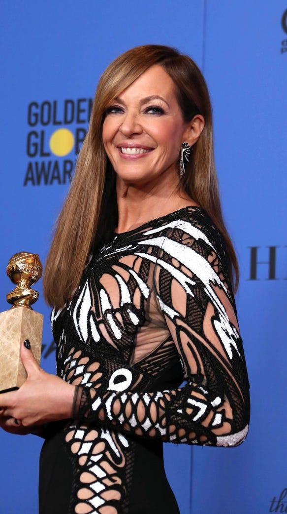 After winning a Golden Globe for 'I, Tonya,' Allison